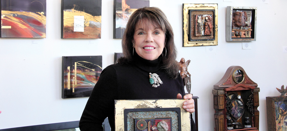 Lyn Belisle tells her journey as an Artist in SAWoman Magazine