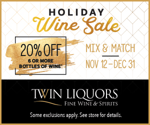 ad for Twin Liquors