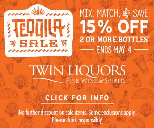 Ad for Italian Wine Special at  Twin Liquors