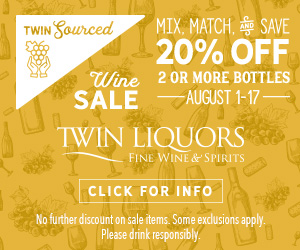 Ad for Special at Twin Liquors