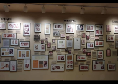 interior of holocaust museum